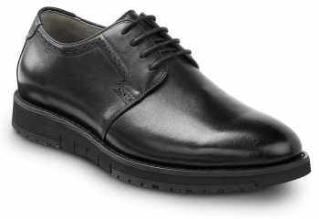 SR Max SRM3300 Beaufort, Men's, Black, Dress Style Soft Toe Slip Resistant Work Shoe