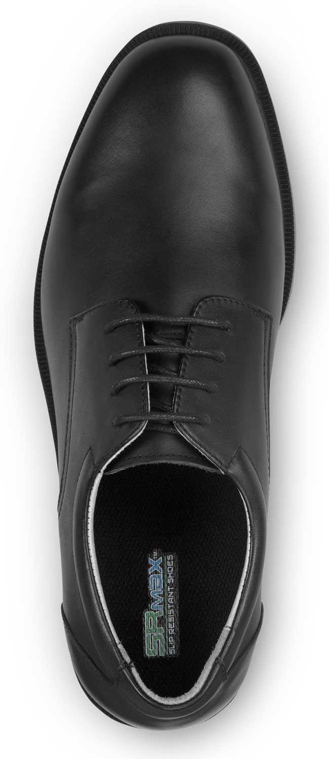 SR Max SRM3500 Arlington Men's Slip Resistant Black Leather Dress Oxford
