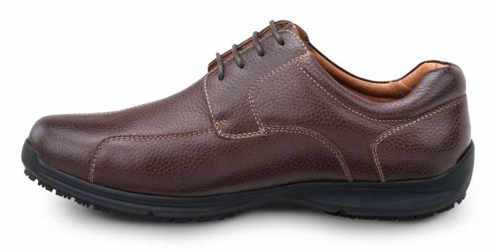 SR Max SRM3750 Atlanta Men's Brown, Soft Toe, Slip Resistant Oxford
