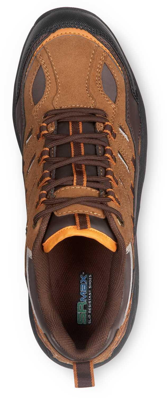 SR Max SRM4650 Boone Men's Brown Comp Toe, EH, Low Hiker