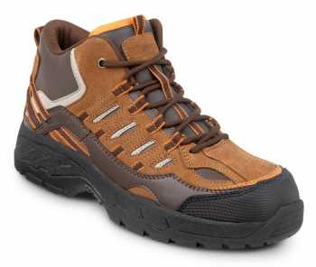 SR Max SRM4750 Boone Men's Brown Comp Toe, EH, Hi Hiker