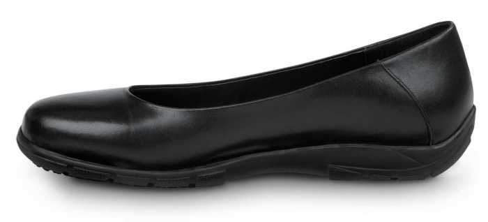 SR Max SRM540 Asheville Women's, Black, Soft Toe, Slip Resistant, Casual Flat