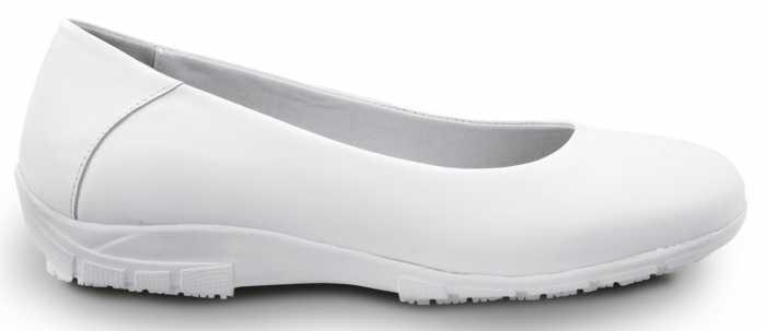 SR Max SRM544 Asheville, Women's, White, Dress Flat Style Soft Toe Slip Resistant Work Shoe