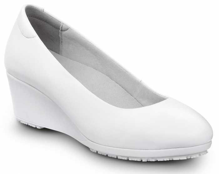 SR Max SRM554 Orlando, Women's, White Dress High Wedge Style Soft Toe Slip Resistant Work Shoe