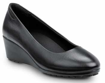 SR Max SRM555 Orlando, Women's, Black, Soft Toe, High Heel, Slip Resistant, Dress Wedge
