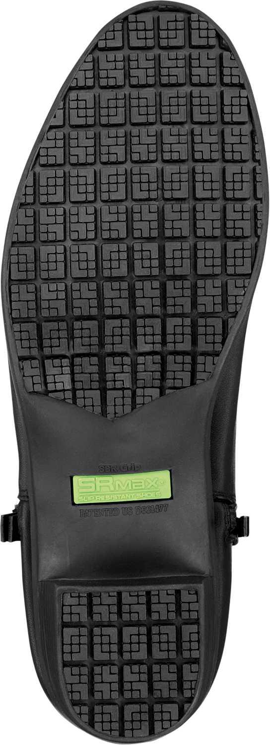 SR Max SRM560 Reno, Women's, Black, Demi Boot Style Soft Toe Slip Resistant Work Shoe