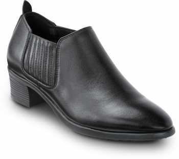 SR Max SRM565 Galena, Women's, Black, Demi Boot Style Soft Toe Slip Resistant Work Shoe