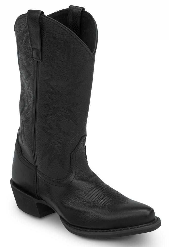 SR Max SRM580 Nashville Women's Black Slip Resistant Cowboy Boot