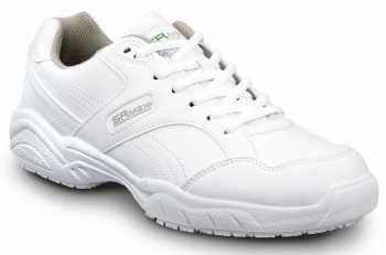 SR Max SRM6140 Dover, Men's, White, Soft Toe, Slip Resistant, Low Athletic