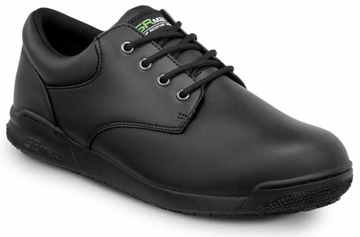 SR Max SRM640 Marshall, Women's, Black, Oxford Style Soft Toe Slip Resistant Work Shoe