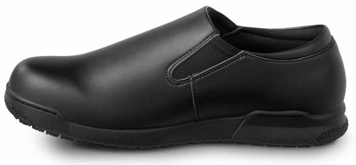 SR Max SRM641 Ashland Black, Women's, Soft Toe, Twin Gore, Slip Resistant Slip On