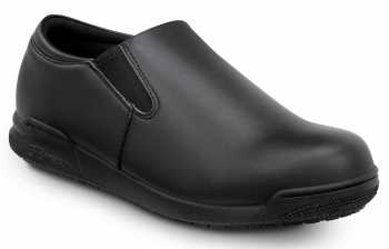 SR Max SRM6410 Ashland Black, Men's, Soft Toe, Twin Gore, Slip Resistant Slip On