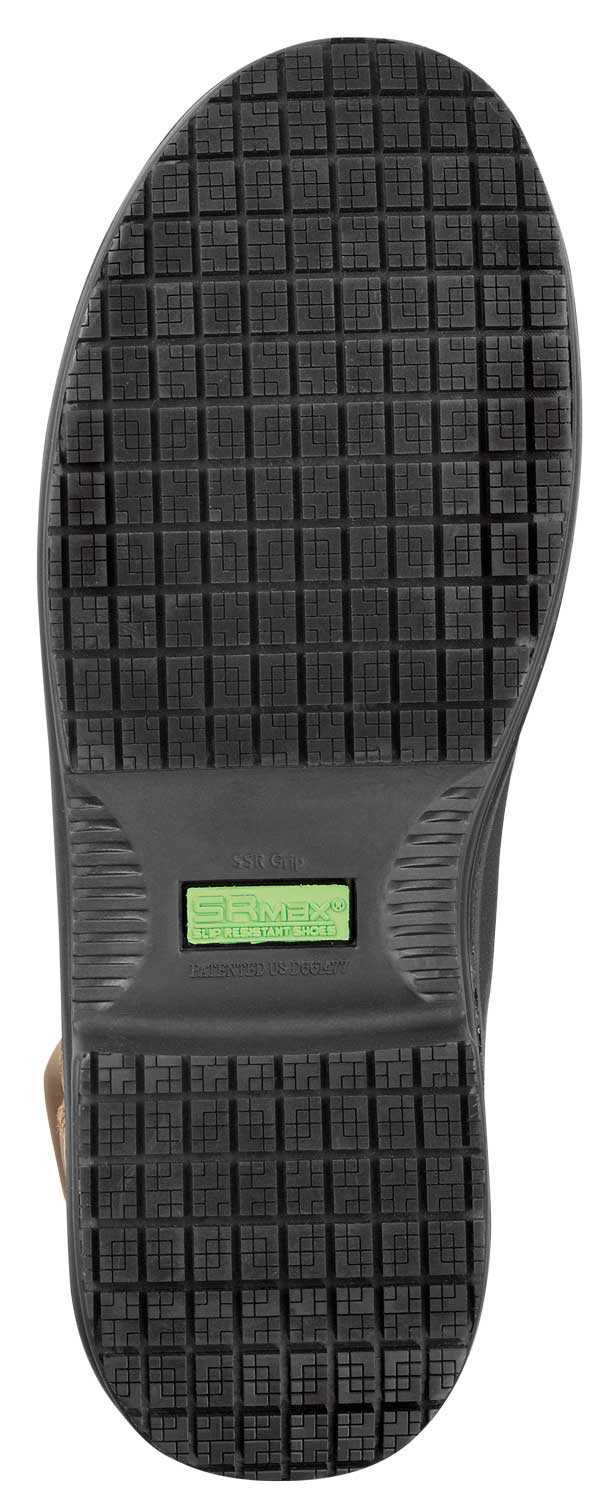 SR Max SRM9960 Logan, Men's, Brown, Comp Toe, EH, WP/Insulated, 8 Inch Boot