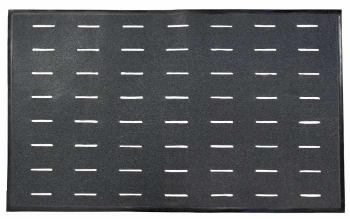 SR Max SRMAT Grip Mat Black Slip Resistant Floor Mat