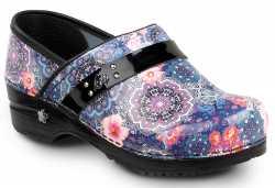 Sanita Floral Paisley Women's Soft Toe Slip Resistant Clog