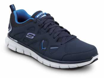 Skechers SSK605NVBL David Navy/Columbia Soft Toe, Slip Resistant, Low Athletic