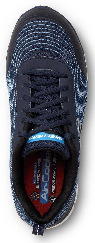 Skechers SSK8173NVY Mia, Women's, Navy, Alloy Toe, EH, Slip Resistant Low Athletic