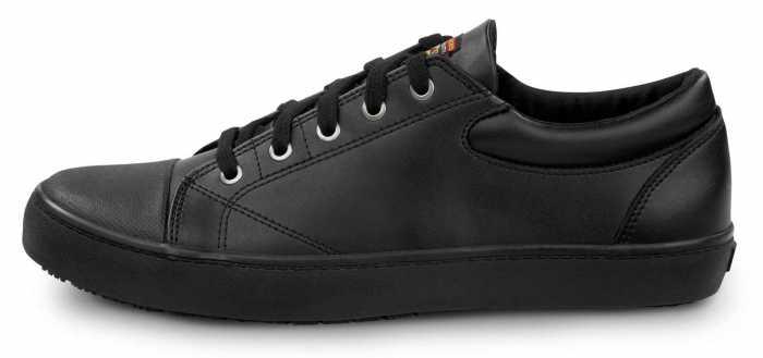 SKECHERS Work SSK9764BBK Patrick Black, Men's, Soft Toe, Slip Resistant Skate Shoe