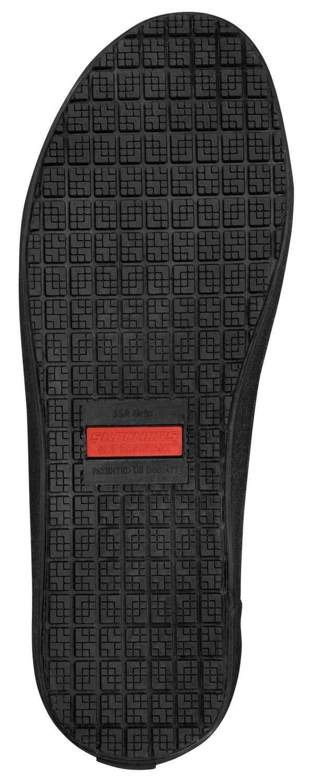 Skechers SSK9808BBK Rick, Men's, Black, Soft Toe, Lace Up
