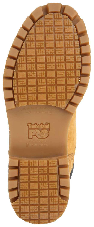 Timberland PRO STMA1WDJ Men's, Wheat, Steel Toe, EH, Slip Resistant, WP, 8 Inch