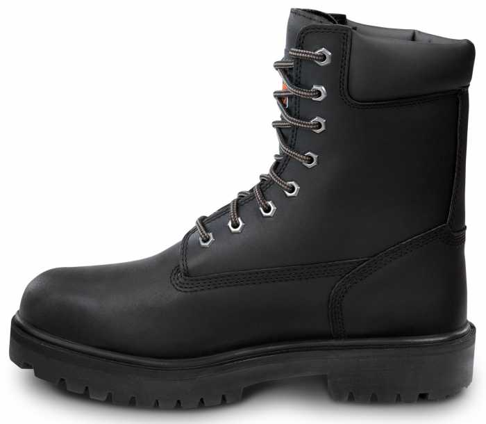 Timberland PRO STMA1WDU 8IN Direct Attach Men's, Black, Steel Toe, EH, MaxTRAX Slip Resistant, WP Boot