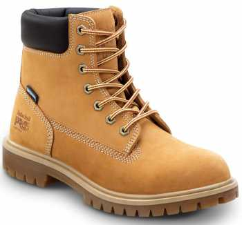 Timberland PRO STMA1X7R 6IN Direct Attach Women's, Wheat, Steel Toe, EH, WP/Insulated