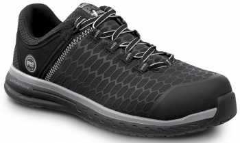 Timberland PRO STMA1XPD Powerdrive, Men's, Black, Comp Toe, EH, Low Athletic