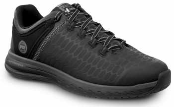 Timberland PRO STMA1XQX Powerdrive, Men's, Black, Soft Toe, EH, MaxTRAX Slip Resistant Low Athletic