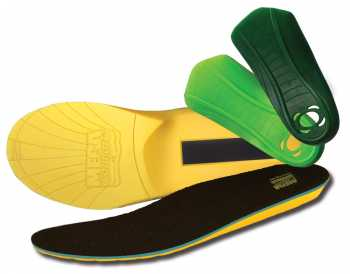 MEGAComfort MULTI-Thotic Insole - 3 in 1 Comfort Orthotic System provides extra support