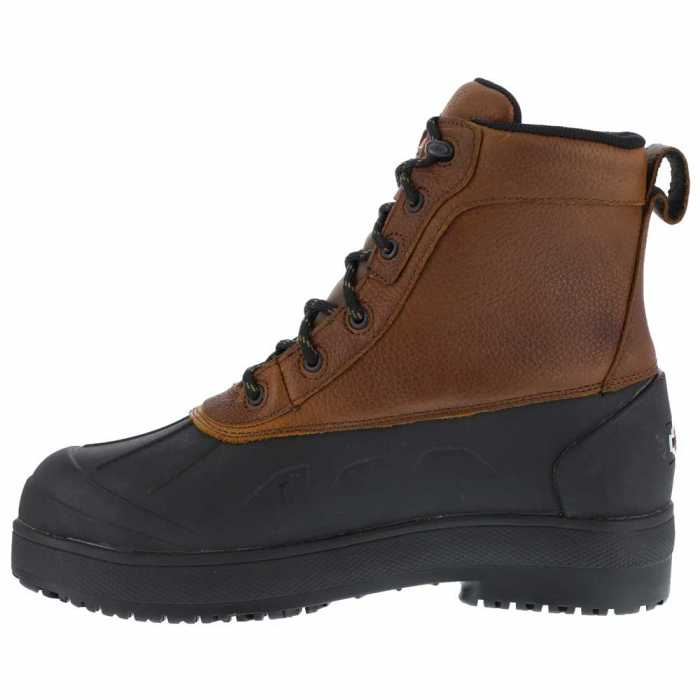 Iron Age WGIA965 Brown/Black Steel Toe, EH, Waterproof Women's Boot