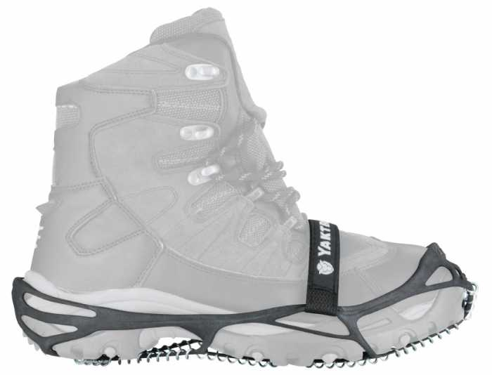 Yaktrax Pro Black Men's and Women's Rubber Steel Coil Men's 11 and a half to 13 and a half. Womens 13 and a half to 15.