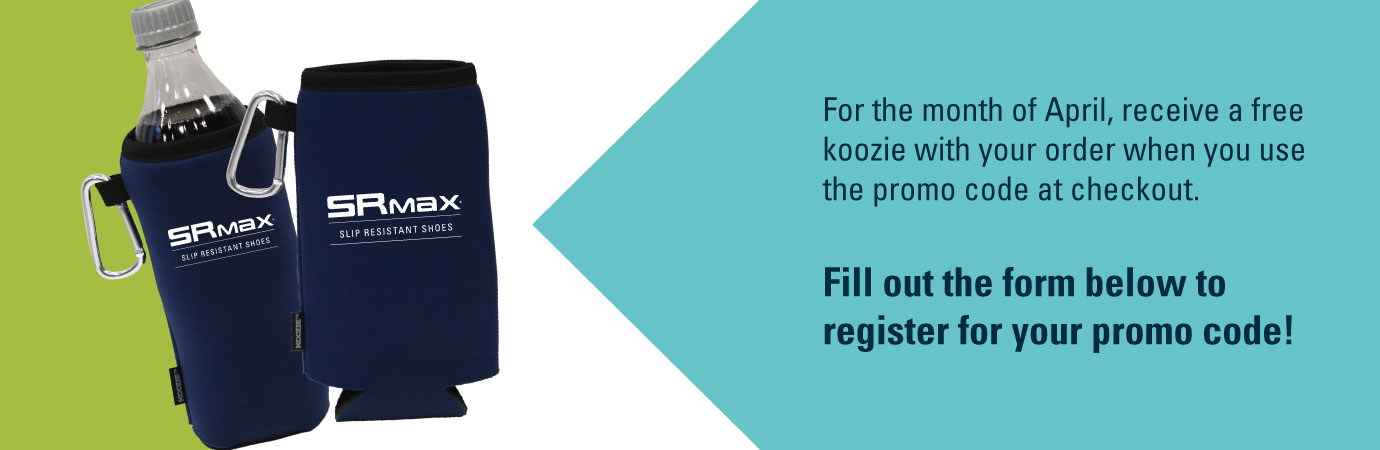 Free koozie with your purchase in April!
