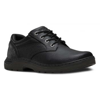 Dr. Martens DMR16947001 Prestige Men's, Black, Soft Toe, Slip Resistant Oxford