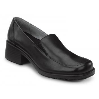 SR Max SRM530 Venice Women's Black, Slip Resistant, Twin Gore Dress Slip On