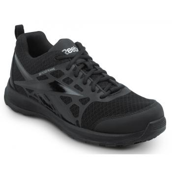 Reebok SRB1500 Black, Soft Toe, Vegan, Slip Resistant Beamer MaxTrax Athletic