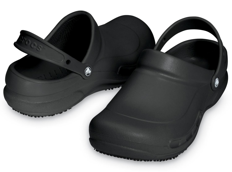 Shoes All Sizes Crocs Bistro Black Unisex Clogs