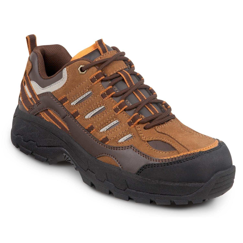 10092a26cf0 SR Max Boone Brown Men's Comp Toe Low Hiker
