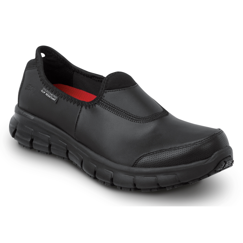 skechers slip resistant shoes