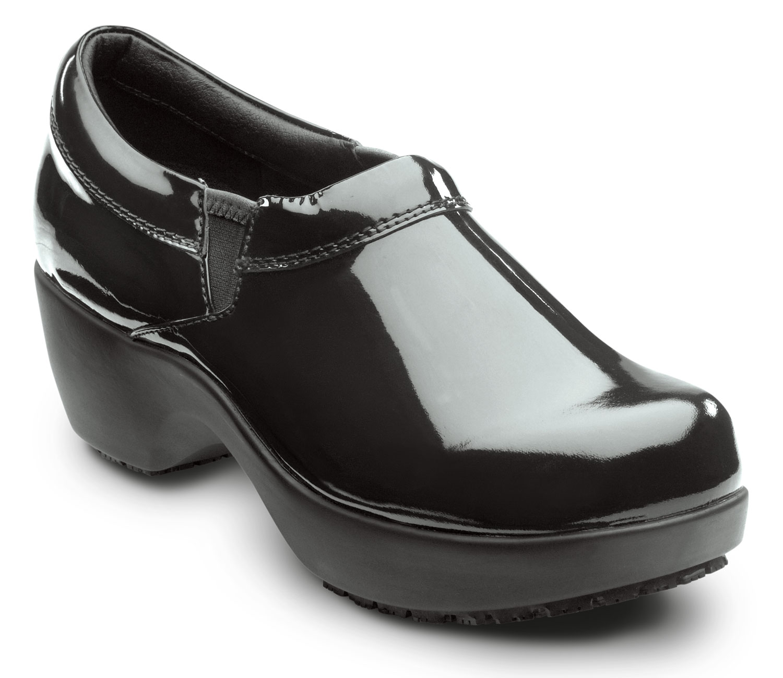 38ec91810d4 SR Max Geneva Women's Black Slip Resistant Clog