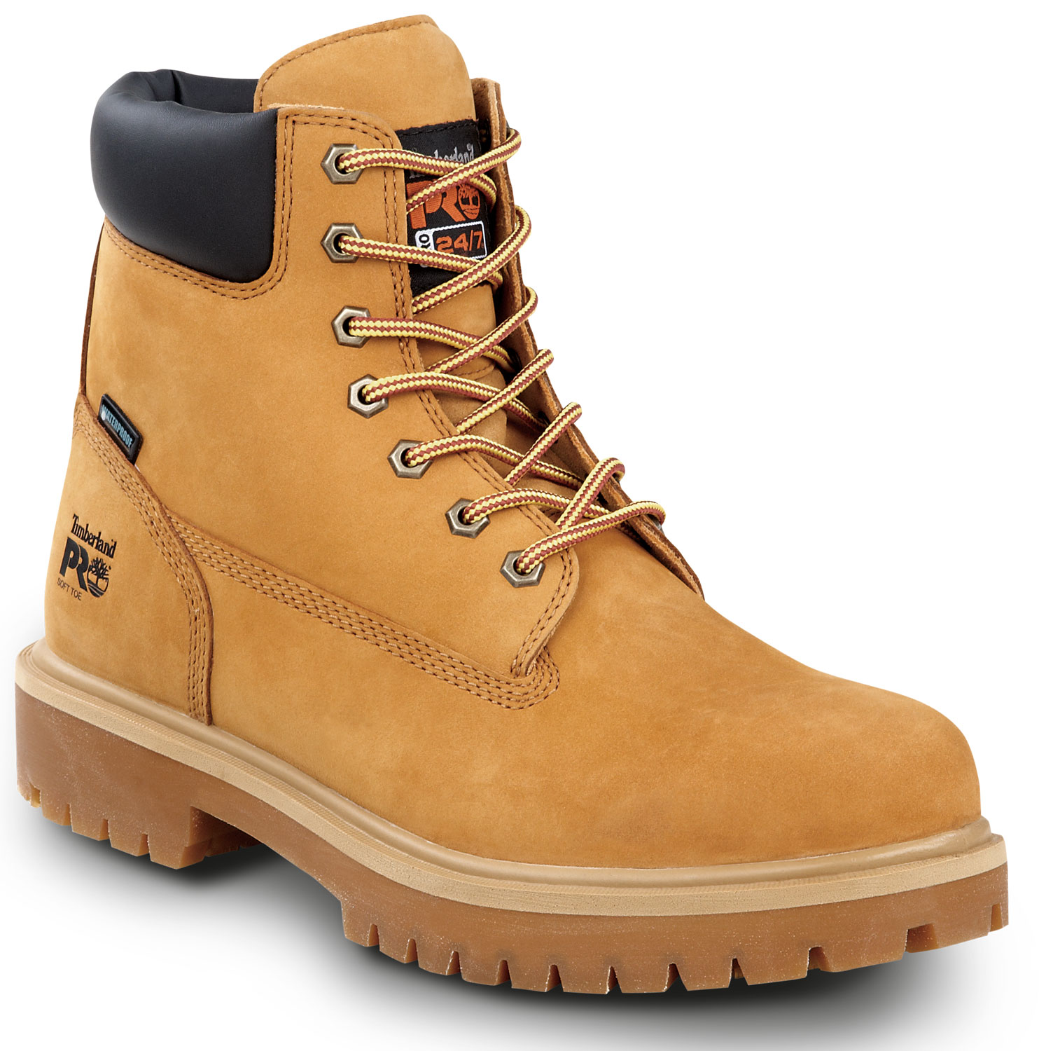 6cde26c3 ... Timberland PRO STMA1V48 6IN Direct Attach Men's, Wheat, Soft Toe, Slip  Resistant, click to zoom ...